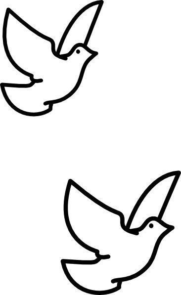 catholic symbols dove clipart best
