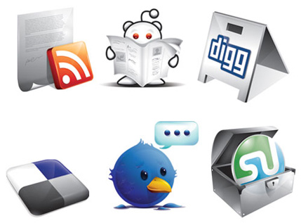 The Best Social Media Icons All In One Place | Freebies