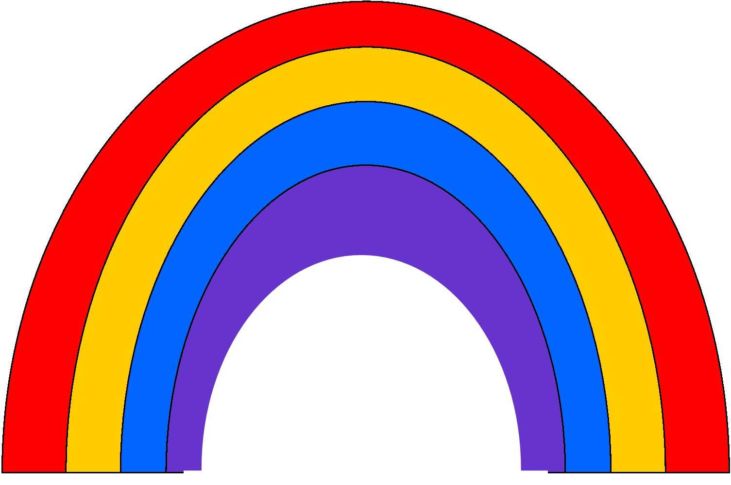 It is a photo of Unusual Free Printable Rainbow