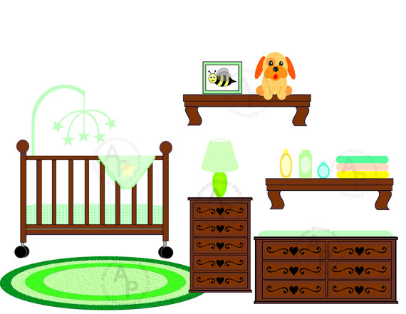 Baby Crib Clipart - ClipArt Best