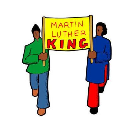 MLK Day Parade Clip Art