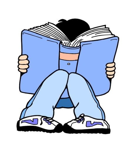 Clip Art Children Reading Books - ClipArt Best
