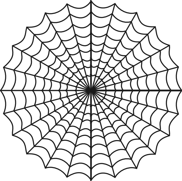 Cartoon Spiderweb Clipart Best