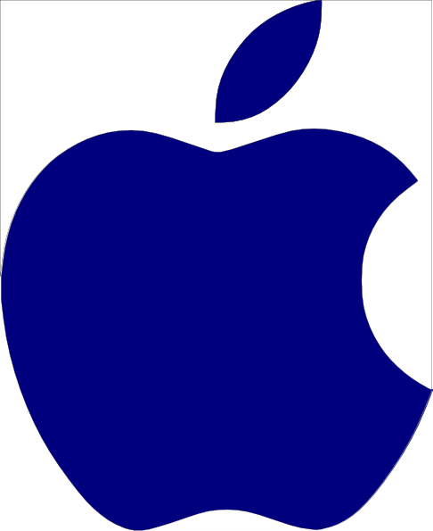 Priest Apple Logo Vector White