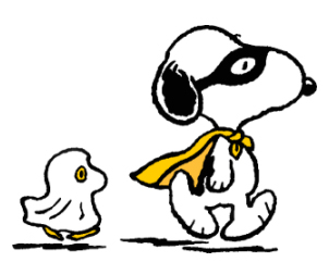 Halloween Peanuts's Cartoon Character Snoopy & Woodstock ...
