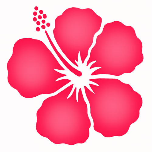 Simple Floral Stencils - ClipArt Best