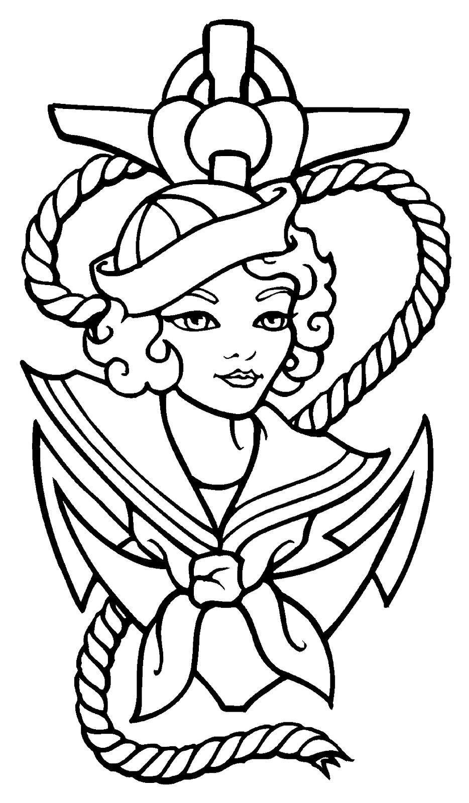 Free Tattoo Line Drawing : Tattoo drawings free clipart best