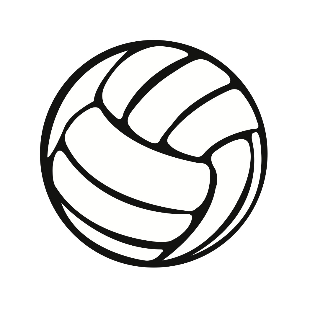 cartoon volleyball clipart - photo #6
