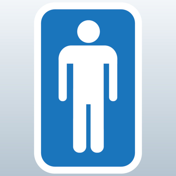 Male Bathroom Symbol ClipArt Best