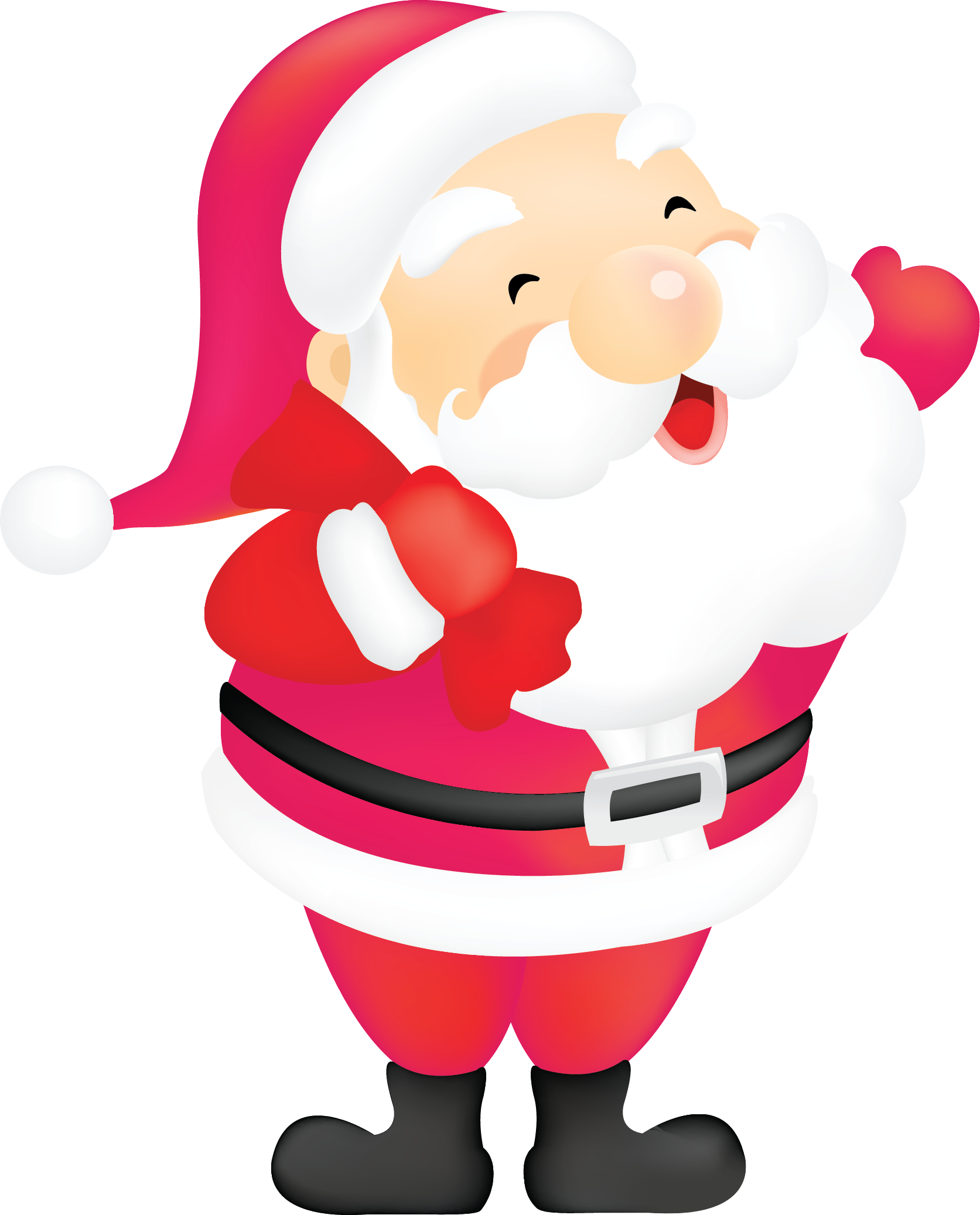 free clip art father christmas - photo #2