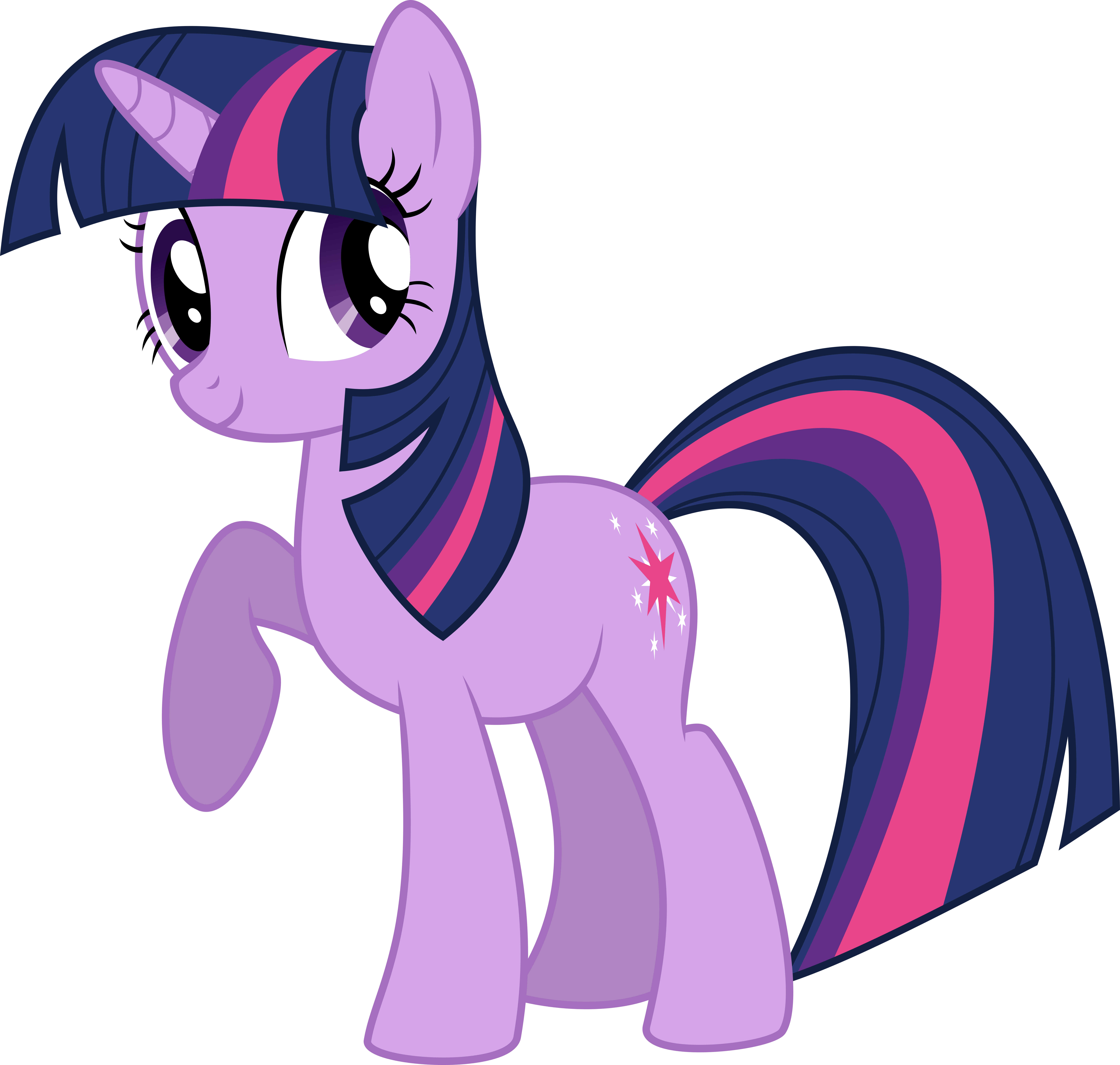 My Little Pony vector - surprised Twilight Sparkle by Krusiu42 on ...