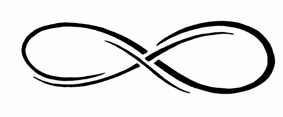 a description of the infinity symbol Amazoncouk: infinity symbol product description infinity symbol on white background wall clock is a the infinity symbol is 15/16 of an inch long and 3/8.