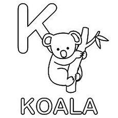 Koala coloring pages clipart best for Koala coloring pages