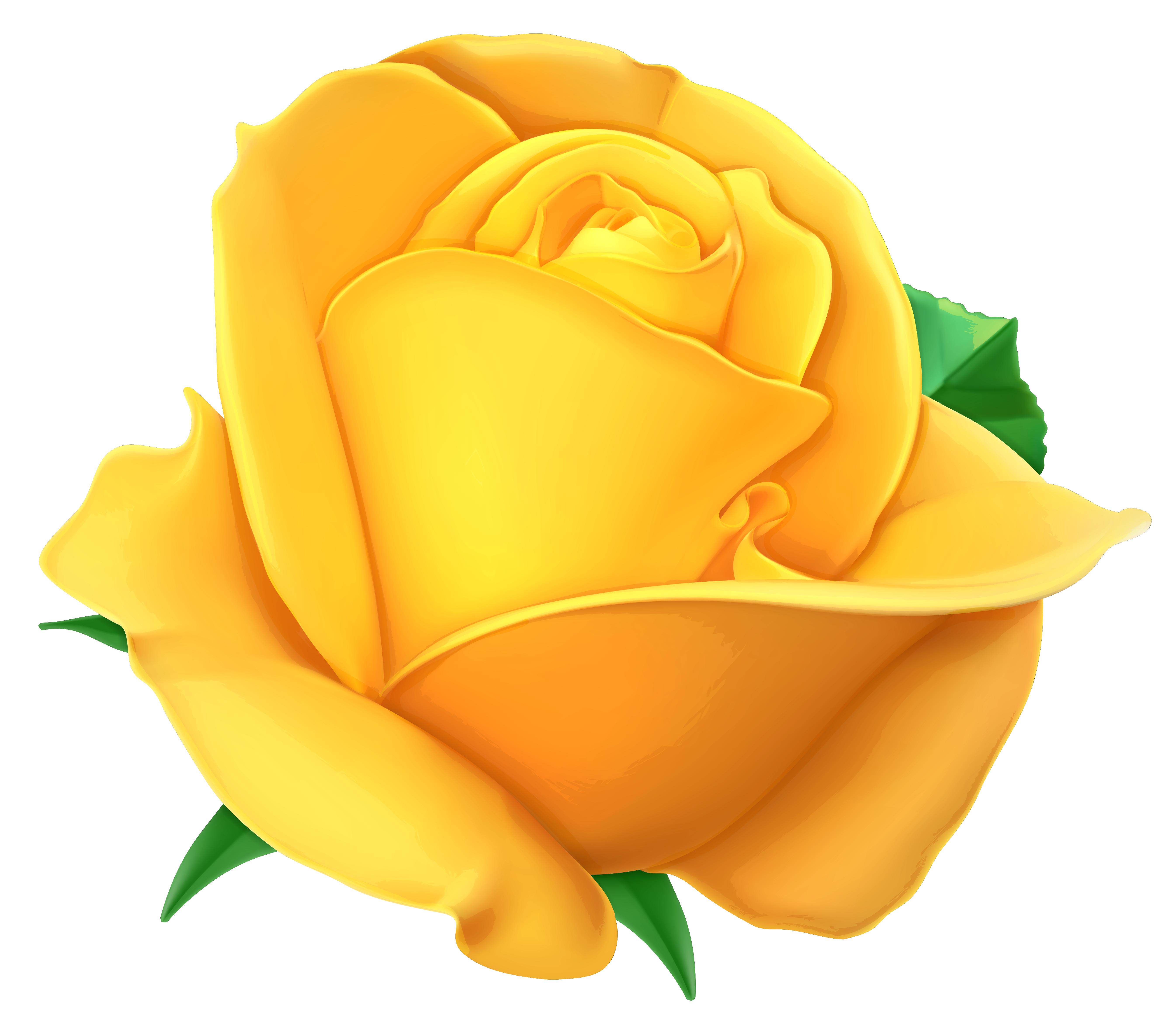 Yellow rose clip art free clipart best - Yellow rose images hd ...