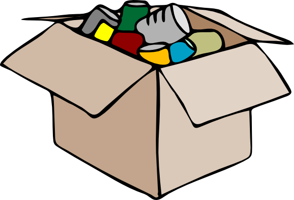 FULL Cardboard Box Clipart - ClipArt Best