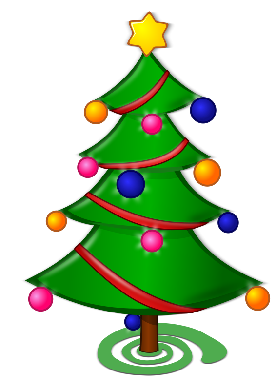 Cartoon christmas trees clipart best - Clipart sapin de noel ...
