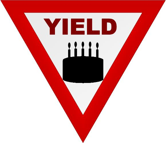 yield sign coloring page   clipart best