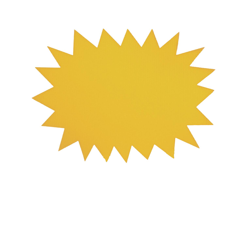 yellow starburst clipart - photo #3
