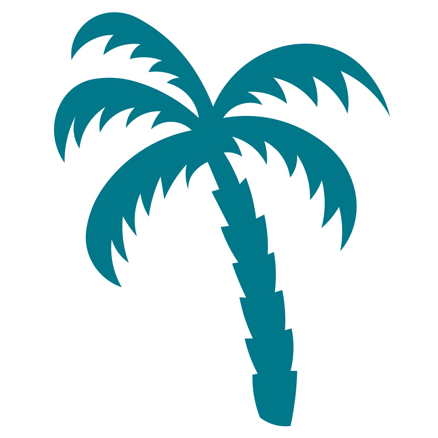 Best Photos Of Palm Tree Cut Out Template Free Printable
