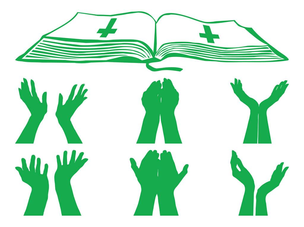 Praying Hands Icons