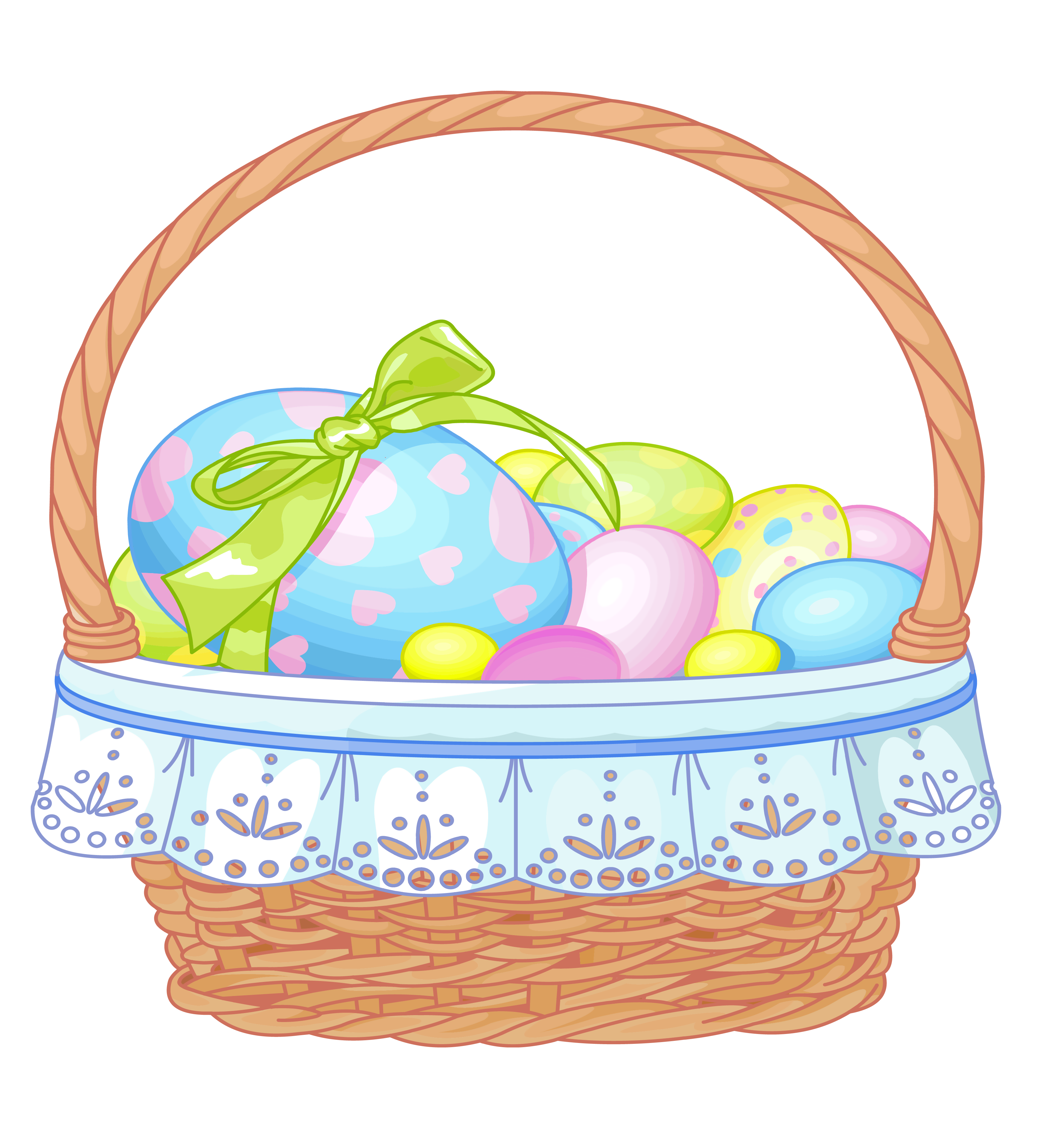 free easter basket clipart - photo #18