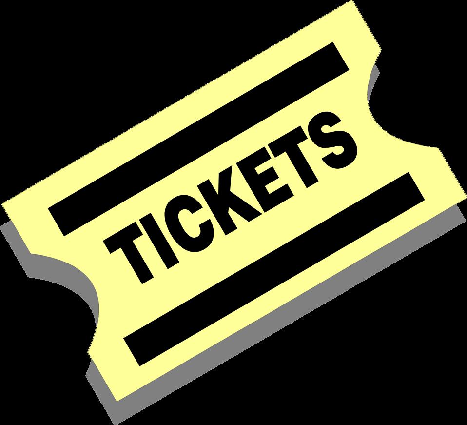 Ticket Cinéma Png - ClipArt Best