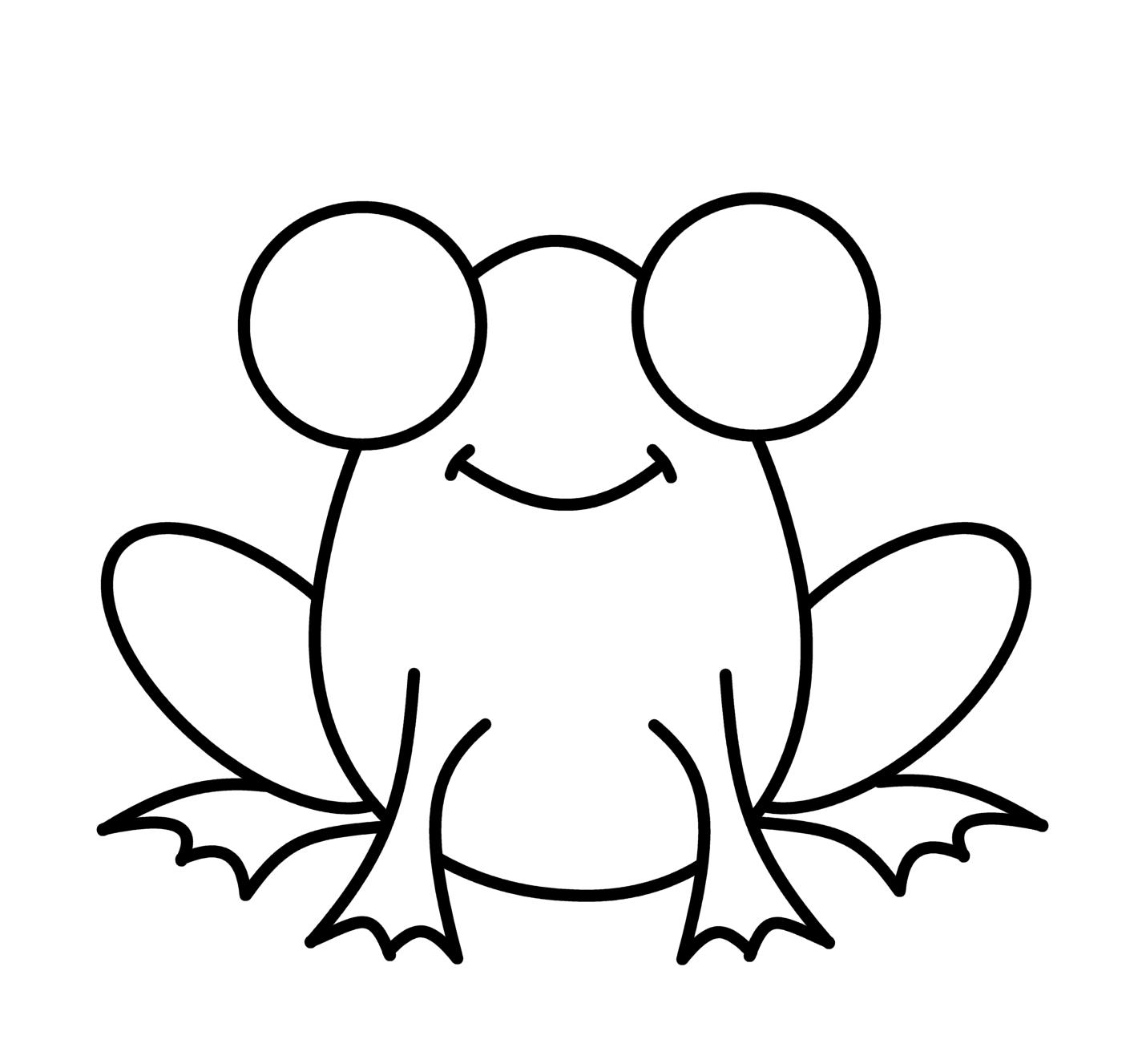 Cartoon Frog Drawings Clipart Best