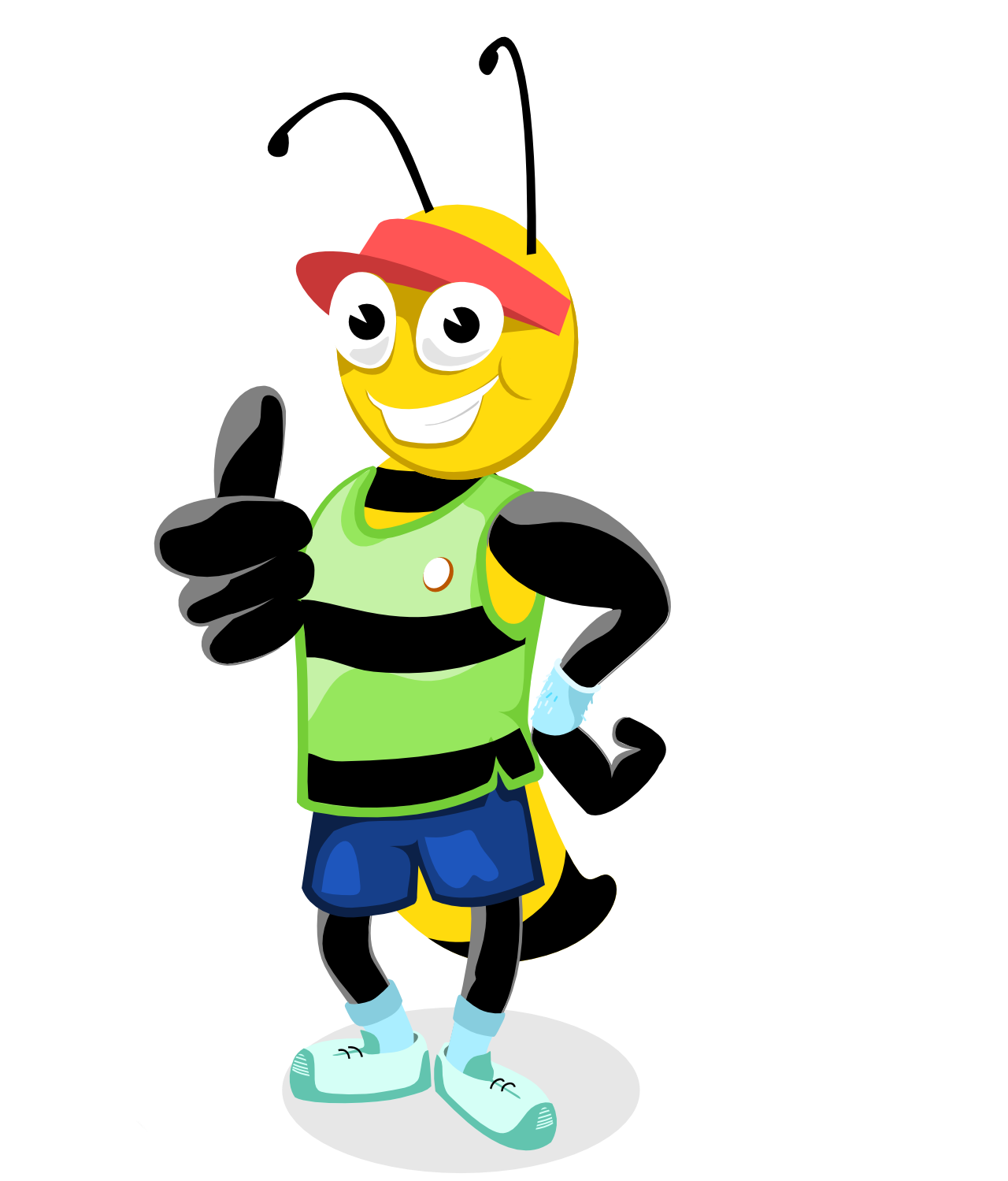 Pictures Of Animated Bees - ClipArt Best