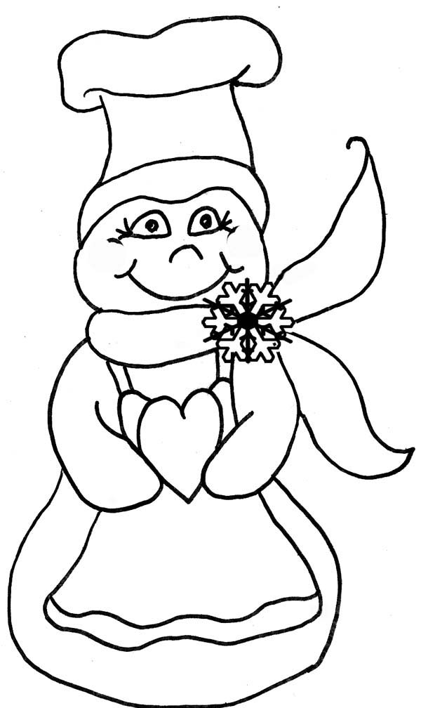 snow woman clipart - photo #7