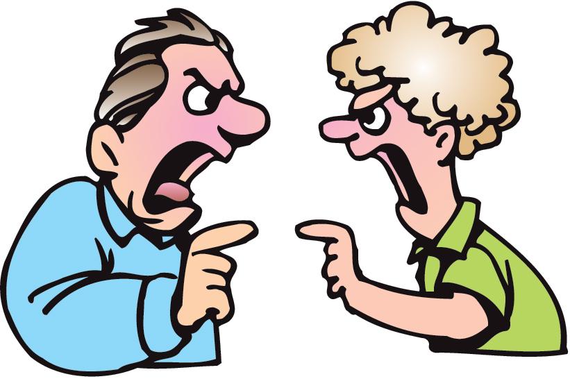 Cartoon People Fighting - ClipArt Best