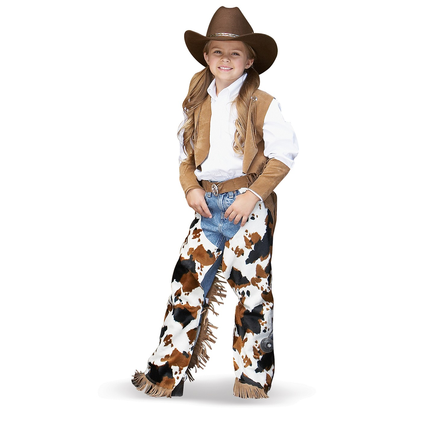 Girl Cowboy Costume Costume · Kids Cowboy Hat