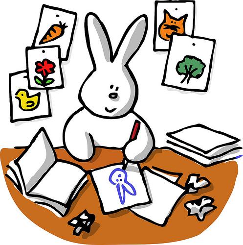 Rabbit burrow clipart - photo#24