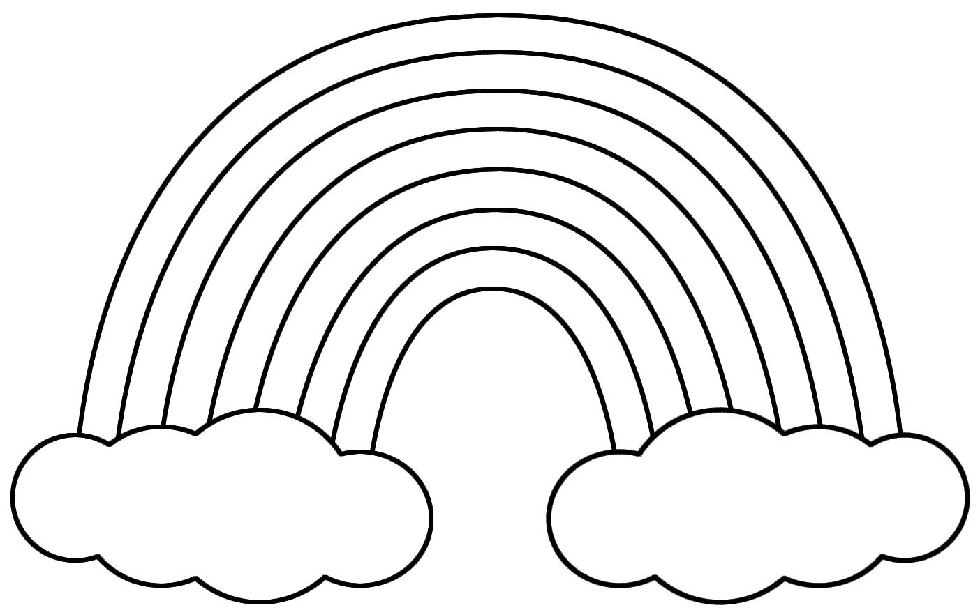 Cloud Template Printable