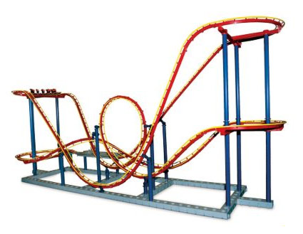 The Automata Blog: 5 foot long working scale roller coaster model