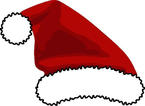 Santa Hat Template Clipart Best