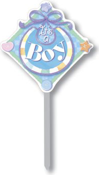 It's a Boy Yard Sign: Baby Shower