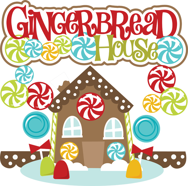 free gingerbread house clipart - photo #1