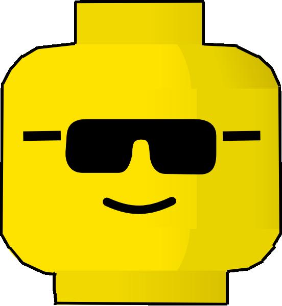 Lego block outline