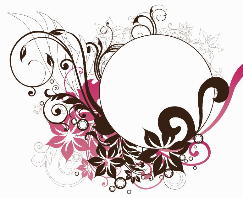 Circle Frame Png Circle Frame With Floral