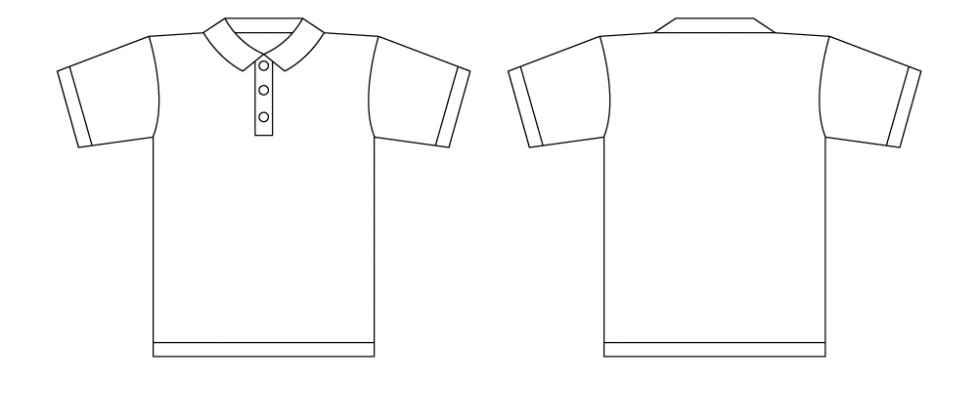 tshirt illustrator template clipart best. Black Bedroom Furniture Sets. Home Design Ideas