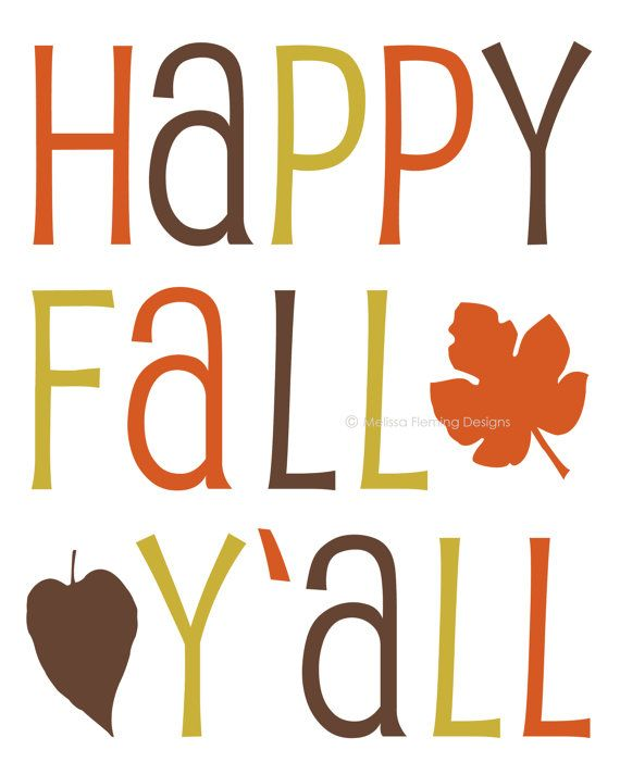 Happy Fall Y'all Clip Art – Clipart Free Download