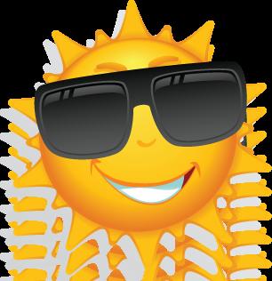 Smiling Sun Logo - ClipArt Best