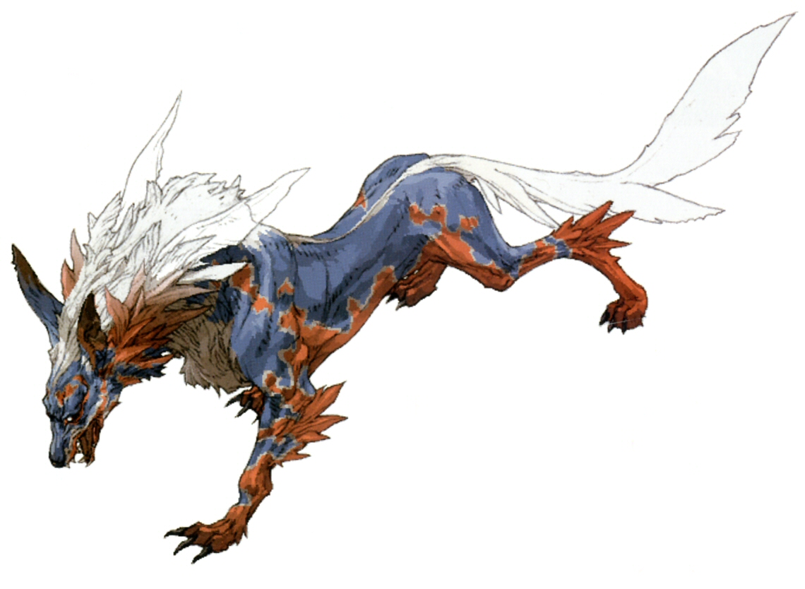 Wolf Final Fantasy - ClipArt Best