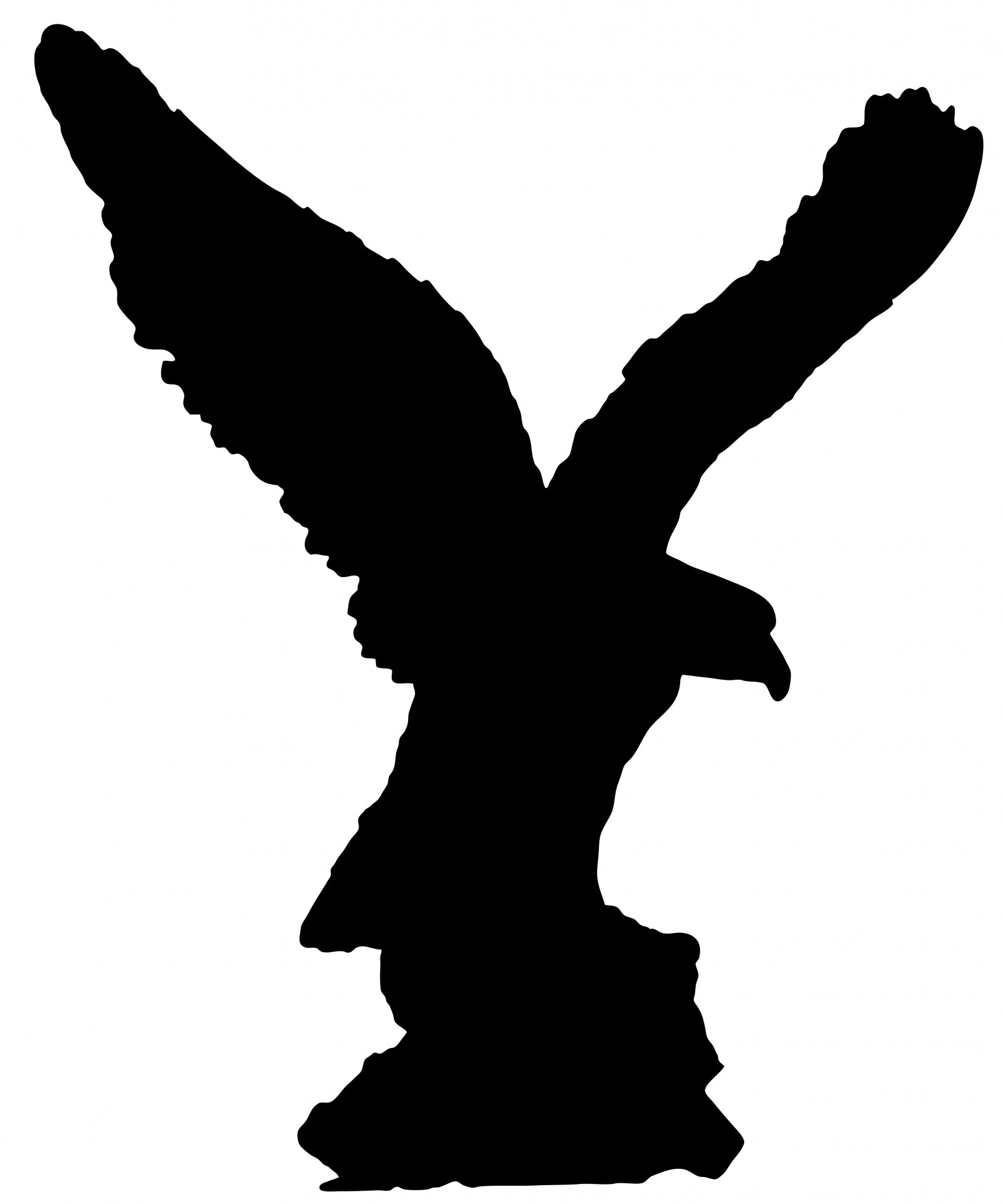 eagle bird clip art - photo #34