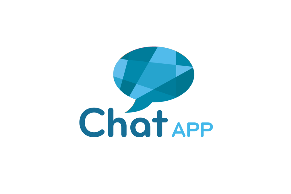 Chat App Logo Design Template | For Sale in UK Store