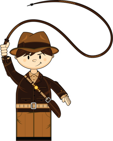 Indiana Jones Whip Cartoon - ClipArt Best