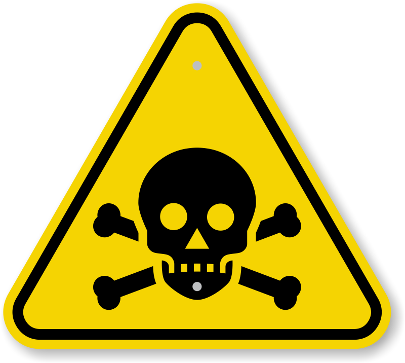 Poison symbol clip art