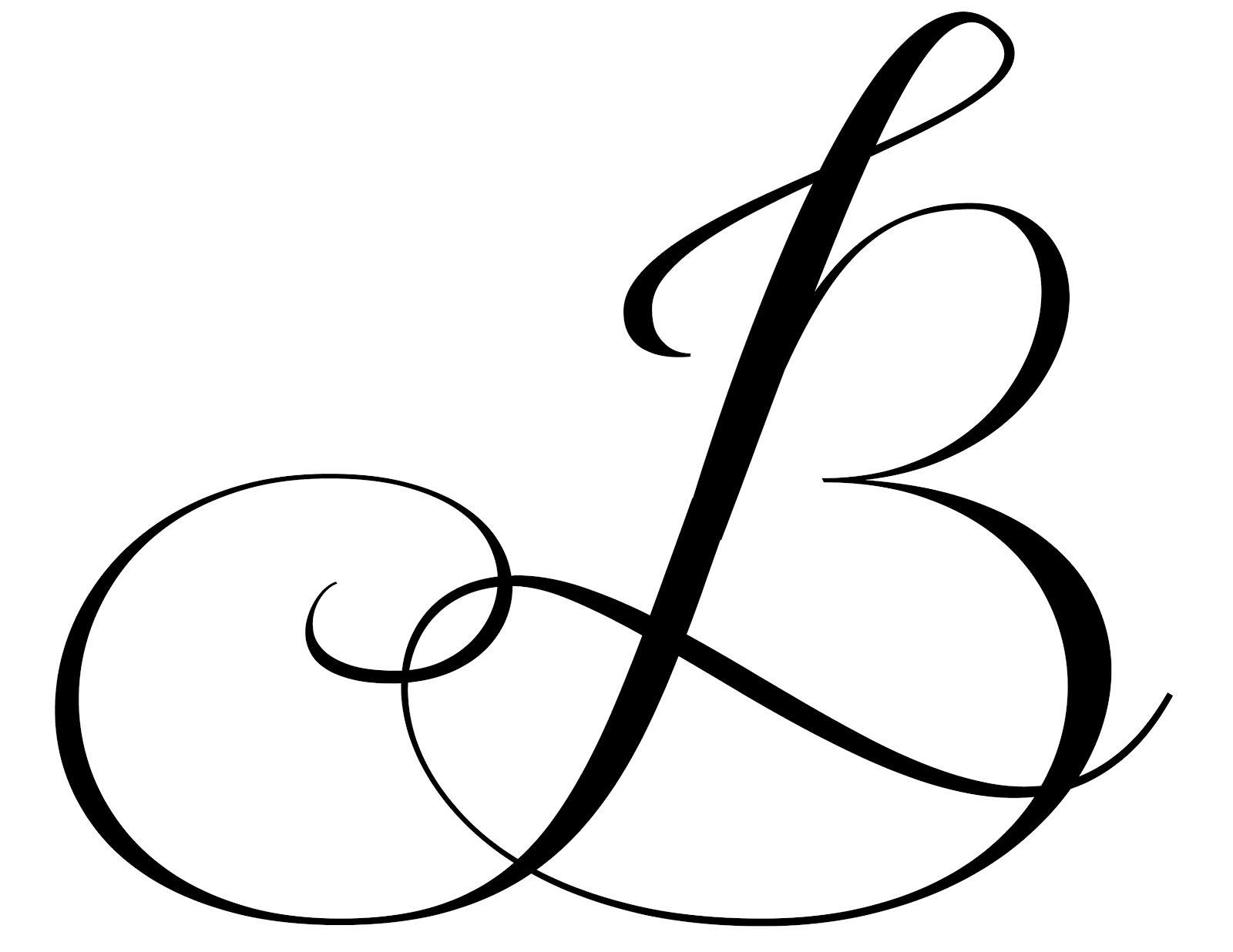letter b designs gallery the elements of wedding design something borrowed
