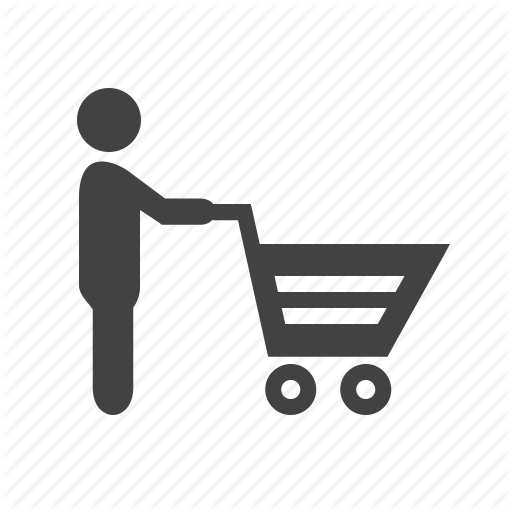 Grocery Store Icon - C...