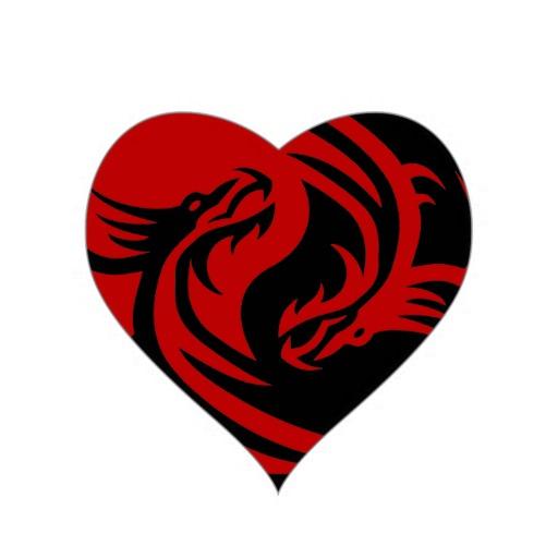 Yin Yang Dragon Symbol - ClipArt Best